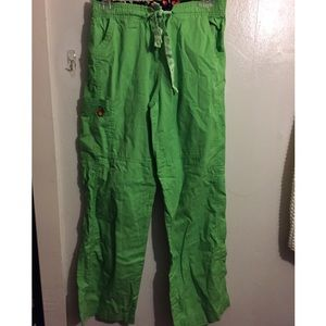 Pants - Green Scrub Pants